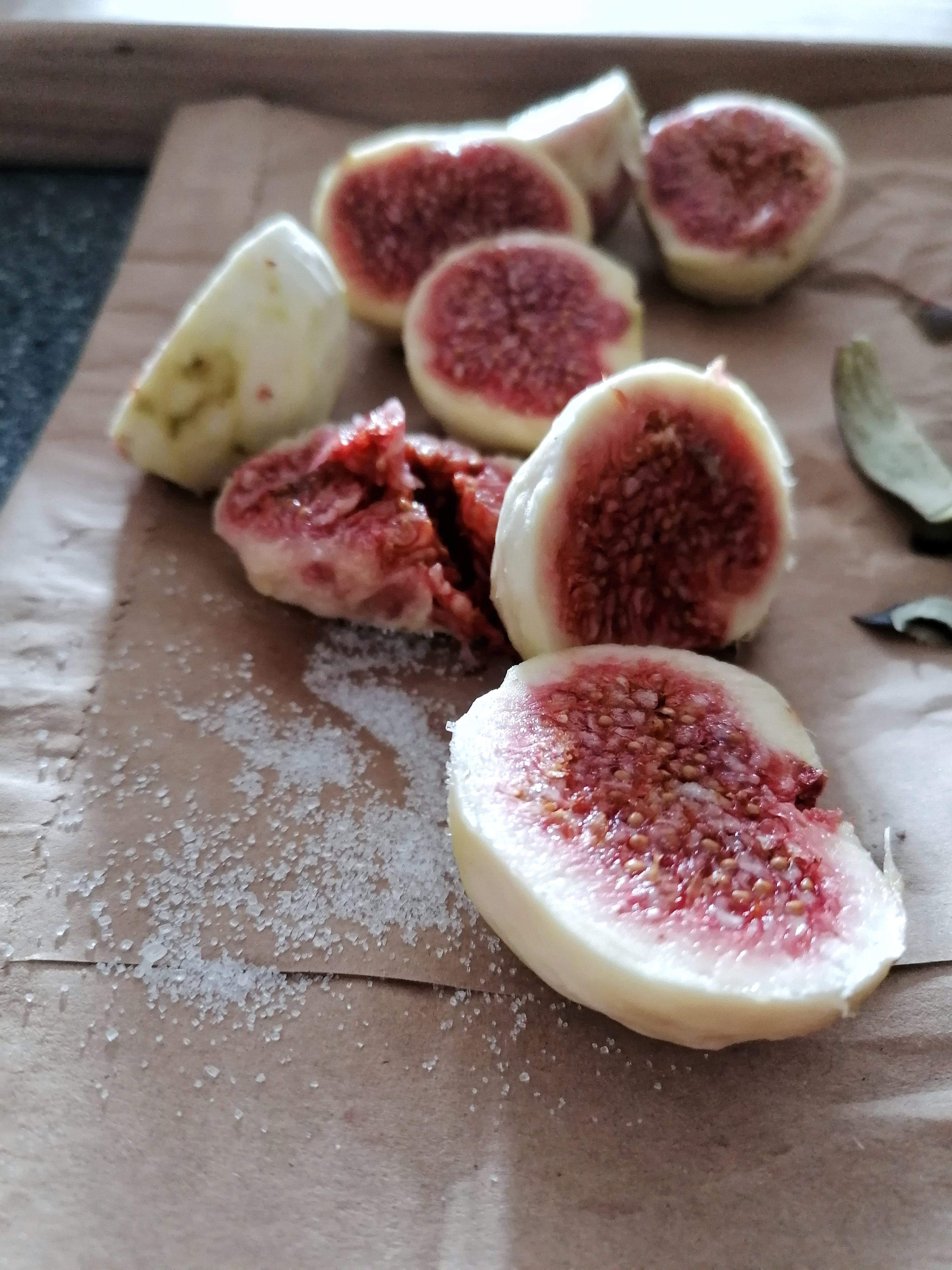 Autumn at home. Fig jam
